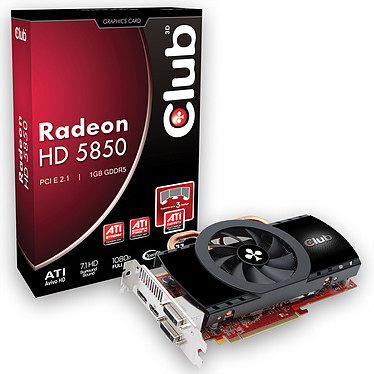 Club 3D Radeon HD 5850 1024 MB
