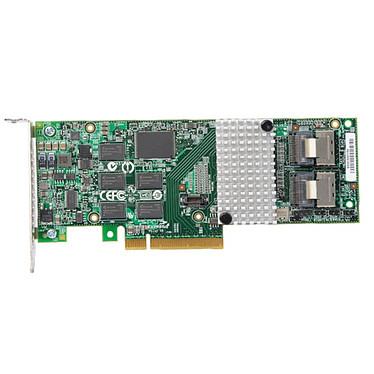 LSI MegaRAID SAS 9261-8i SGL LSI MegaRAID SAS 9261-8i SGL - Carte contrôleur PCI-Express 8x (8 ports SAS/SATA 6 Gb/s internes) - (version bulk)