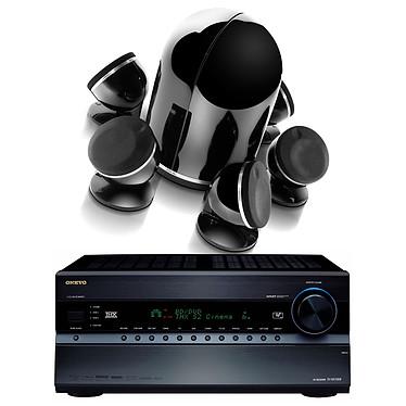 Onkyo TX-NR1008 Noir + Focal Dôme Pack 5.1 Diamond Black Onkyo TX-NR1008 Noir + Focal Dôme Pack 5.1 Diamond Black - Ampli-tuner Home Cinema 3D Ready 9.2 THX Select2 Plus DLNA avec HDMI 1.4 et décodeurs HD + Enceintes 5.1