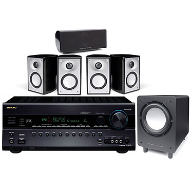 Onkyo TX-NR708 + Mordaunt-Short Pack Alumni Noir Onkyo TX-NR708 + Mordaunt-Short Pack Alumni Noir - Ampli-tuner Home Cinema 3D Ready 7.2 THX Select2 Plus DLNA avec HDMI 1.4 et décodeurs HD + Pack d'enceintes 5.1