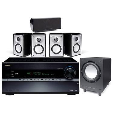 Onkyo TX-NR808 + Mordaunt-Short Pack Alumni Noir Onkyo TX-NR808 + Mordaunt-Short Pack Alumni Noir - Ampli-tuner Home Cinema 3D Ready 7.2 THX Select2 Plus DLNA avec HDMI 1.4 et décodeurs HD + Pack d'enceintes 5.1