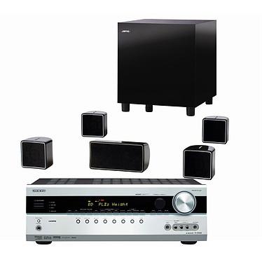 Onkyo TX-SR508 Argent + Jamo A 102 HCS 6 Noir Onkyo TX-SR508 Argent + Jamo A 102 HCS 6 Noir - Ampli-tuner Home Cinéma 7.1 avec HDMI 1.4 et Décodeurs HD + Pack d'enceintes 5.1