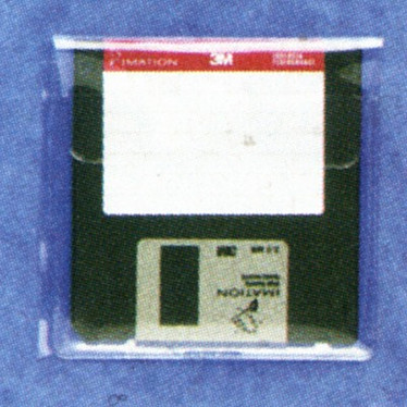 Exacompta 5 Pochettes adhésives pour disquettes Exacompta 5 Pochettes adhésives pour disquettes