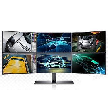 """Samsung 6x 23"""" LCD - SyncMaster MD230x6 1920 x 1080 pixels - 8 ms - Dalles PVA - Format large 16/9 - Noir"""