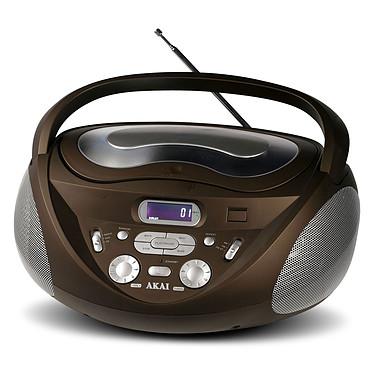Akai AJP-6430 Marron Radio CD MP3/WMA avec port USB