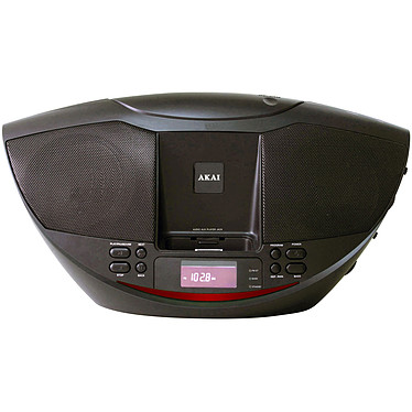 Akai Boombox ABP-6441 Radio CD MP3 avec station d'accueil iPod et port USB