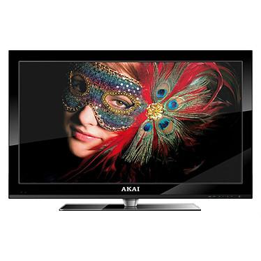 "Akai DLC-E2251 Noir Akai DLC-E2251 Noir - Téléviseur LED Full HD 22"" (56 cm) 16/9 - 1920 x 1080 pixels - Tuner TNT HD - HDTV 1080p - Mode hôtel"