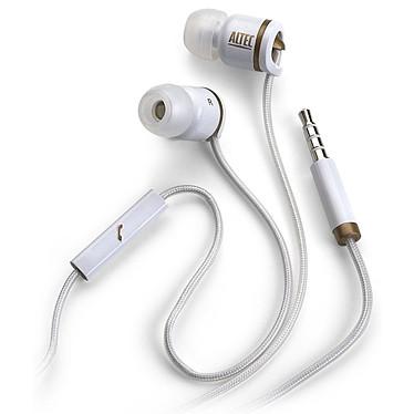 Altec Lansing Muzx Core Blanc Ecouteurs intra-auriculaire (avec micro pour iphone)