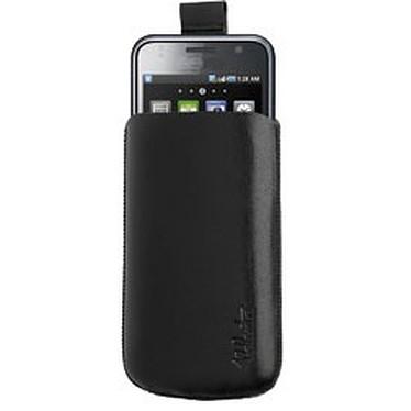Valenta Pocket Black 15 Valenta Pocket Black 15 - Etui en cuir noir pour Samsung Galaxy S