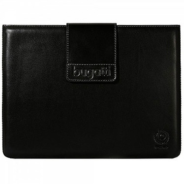 Bugatti iPad Basic black Bugatti iPad Basic black - Etui en cuir pour iPad