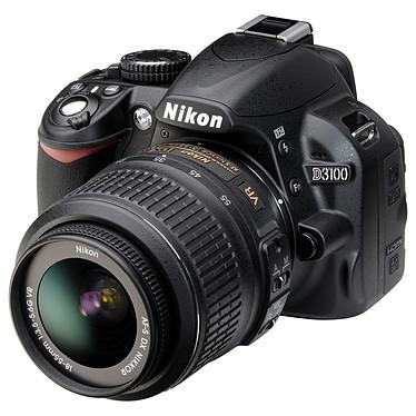 Acheter Nikon D3100 + 18-55 mm VR + 55-200 mm VR + Sacoche + Carte SDHC 4 Go