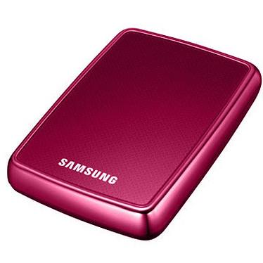 "Samsung S2 Portable Samsung S2 Portable - Disque dur externe 2 ""1/2 500 Go - Coloris rose (USB 2.0)"