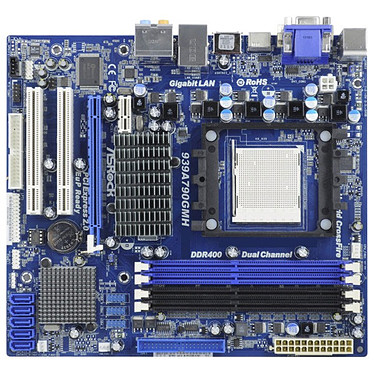 ASRock 939A790GMH Carte mère Micro ATX Socket 939 AMD 790GX