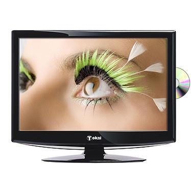 "Tokai LTL-2213 Téléviseur COMBO LCD/DVD Full HD 22"" (55 cm) 16/9 - 1920 x 1080 pixels - Tuner TNT HD - HDTV 1080p - Mode hôtel -USB PVR"