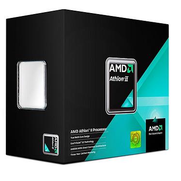 AMD Athlon II X2 250 Processeur Dual Core Socket AM3 0.045 micron Cache L2 2 Mo - Stepping C3 (version boîte - garantie constructeur 3 ans)