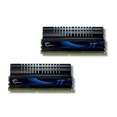 G.Skill Pi Series 4 Go (2x 2Go) DDR3 2133 MHz G.Skill PI Series 4 Go (kit 2x 2 Go) DDR3-SDRAM PC3-17066 - F3-17066CL7D-4GBPIS (garantie 10 ans par G.Skill)