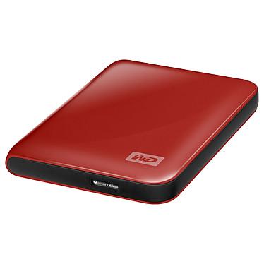 """Western Digital My Passport Essential 500 Go Rouge (USB 3.0) Disque dur externe 2.5"""" sur port USB 3.0/USB 2.0  (garantie constructeur 2 ans)"""