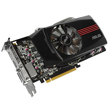 ASUS EAH6850 DirectCU/2DIS/1GD5 1 Go HDMI/Dual DVI/DisplayPort - PCI Express (AMD Radeon HD 6850)