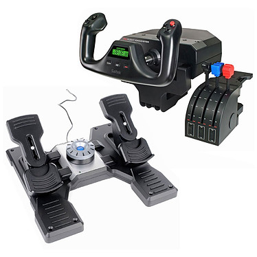 Logitech G Saitek Pro Flight First Flight: Yoke System + Rudder Pedals