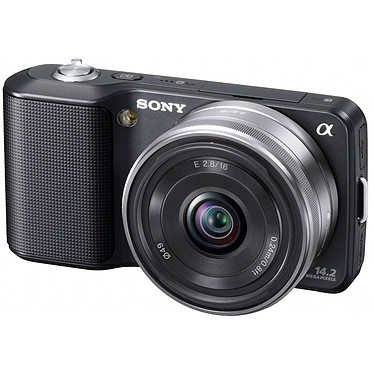 Acheter Sony NEX-3 Noir + Objectif 16 mm