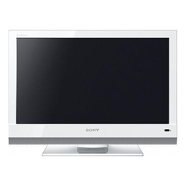"""Sony BRAVIA KDL-19BX200W Sony BRAVIA KDL-19BX200W Blanc - Téléviseur LCD 19"""" (48 cm) 16/9 - 1366 x 768 pixels - Tuner TNT HD"""