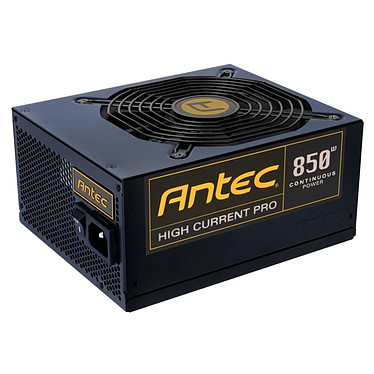 Antec High Current Pro 850 80PLUS Gold Alimentation modulaire 850 Watts ATX12V 2.3 80 PLUS Gold