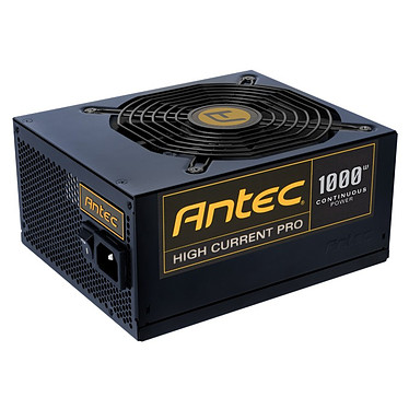 Antec HCP-1000 Antec High Current Pro 1000 - Alimentation modulaire 1000 Watts ATX12V 2.3 80 PLUS Gold