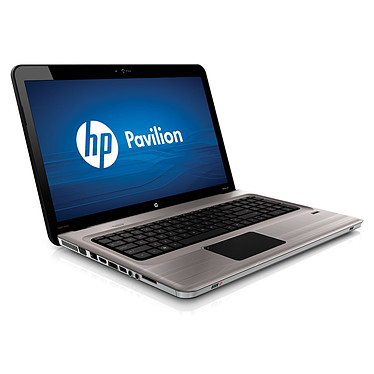 "HP Pavilion dv7-4176sf Intel Core i3-370M 4 Go 640 Go 17.3"" LED ATI Mobility Radeon HD 5470 Graveur DVD LightScribe Wi-Fi N/Bluetooth Webcam Windows 7 Premium 64 bits"