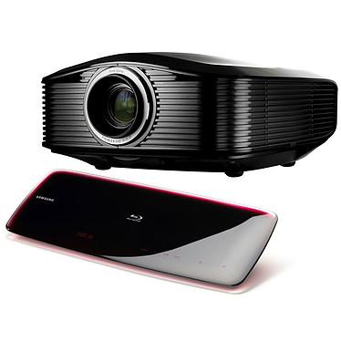 Optoma HD82 + Samsung BD-P4600 Optoma HD82 + Samsung BD-P4600 - Vidéoprojecteur DLP Full HD 1080p 1300 Lumens