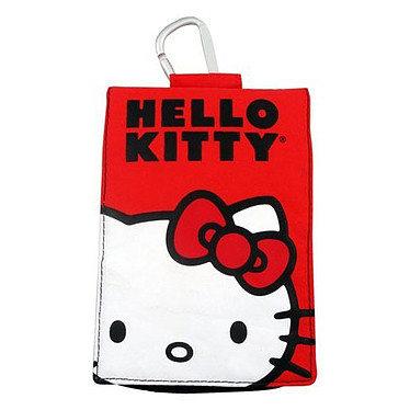 Hello Kitty Etui universel Rouge pour mobile, iPhone, MP3 et iPod Hello Kitty Etui universel Rouge pour mobile, iPhone, MP3 et iPod