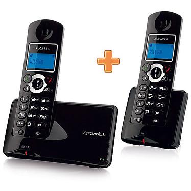 Alcatel Versatis C350 Noir Duo Alcatel Versatis C350 Noir Duo - Téléphone DECT sans fil + 1 combiné supplémentaire (version française)