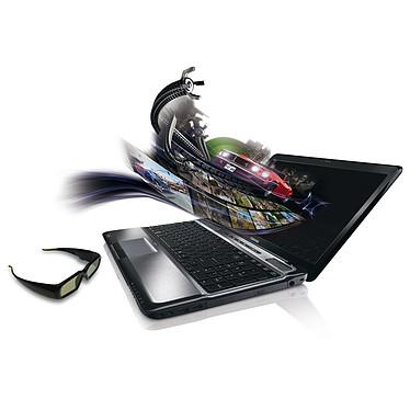 "Toshiba Satellite A665-147 Toshiba Satellite A665-147 - Intel Core i7-740QM 4 Go 640 Go 15.6"" LED 3D NVIDIA GeForce GTS 350M Graveur Blu-ray/DVD Wi-Fi N/Bluetooth Webcam Windows 7 Premium 64 bits"