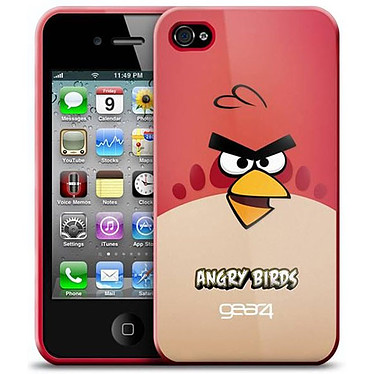 Gear4 Angry Birds Rouge - Coque pour iPhone 4 Gear4 Angry Birds Rouge - Coque pour iPhone 4