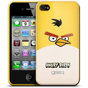 Gear4 Angry Birds Jaune - Coque pour iPhone 4