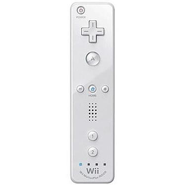 Nintendo Wiimote Plus Blanche (Wii/Wii U) Wiimote Plus avec Wii MotionPlus intégré pour Wii (coloris blanc)