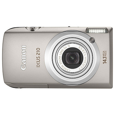 Canon IXUS 210 Argent + Etui DCC-1100 pas cher