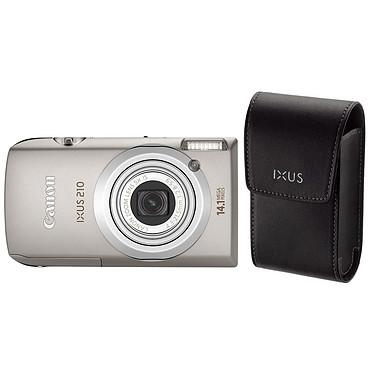 Canon IXUS 210 Argent + Etui DCC-1100 Canon IXUS 210 Argent + Etui DCC-1100 - Appareil photo 14.1 MP - Zoom 5x - Vidéo HD - Ecran tactile