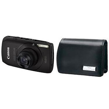 Canon IXUS 300 HS Noir + Housse DCC-70 Canon IXUS 300 HS Noir + Housse DCC-70 - Appareil photo 10 MP - Zoom 3.8x - Vidéo HD
