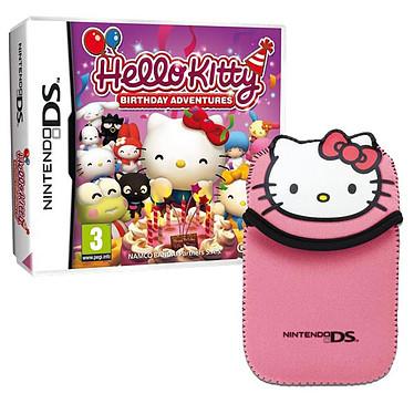 Hello Kitty Birthday Adventures + Sac (Nintendo DS) Hello Kitty Birthday Adventures + Sacoche pour DS (Nintendo DS)