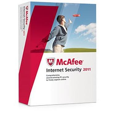 McAfee Internet Security 2011 3 postes McAfee Internet Security 2011 - Licence 1 an 3 postes (français, WINDOWS)