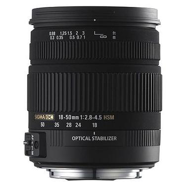 SIGMA 18-50mm F2,8-4,5 DC OS HSM monture Canon Zoom standard stabilisé