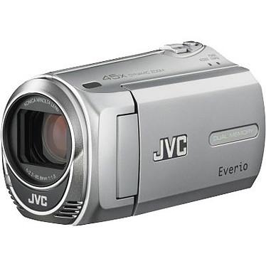 JVC GZ-MS216 Argent + SD 4 Go + Batterie supplémentaire JVC GZ-MS216 Argent - Caméscope carte mémoire avec SD 4 Go et Batterie supplémentaire BN-VG107UE