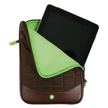 PORT Designs Berlin (marron) Housse matelassée pour iPad, iPad 2 et Nouvel iPad