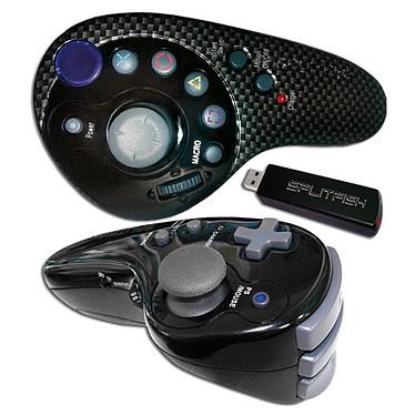 SplitFish Dual SFX Evolution (PS3) Manette sans fil gyroscopique pour PS3