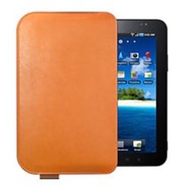 """Samsung EF-C980LCE Marron Etui en cuir type agenda pour Galaxy Tab 7"""""""