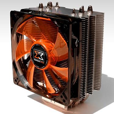 Xigmatek Achilles S1284W Xigmatek Achilles S1284W - Ventilateur processeur (pour Socket 775/1156/1366/AM2/AM2+/AM3)