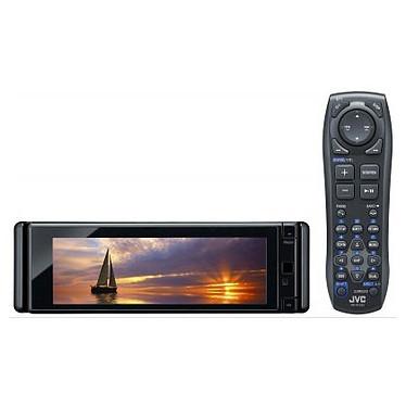JVC KD-AVX77 JVC KD-AVX77 - Autoradio DVD / DivX MP3 Bluetooth avec écran panoramique, contrôle iPod/iPhone, USB