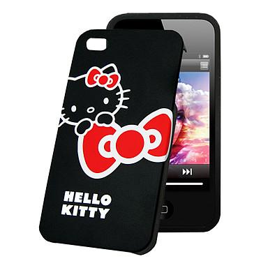 Hello Kitty Coque pour iPhone 4 Noir