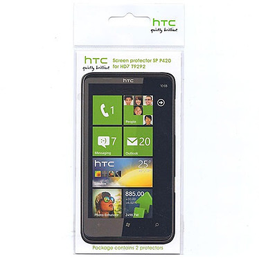HTC SP P420 Lot de 2 Ecrans de protection pour HD7/T9292