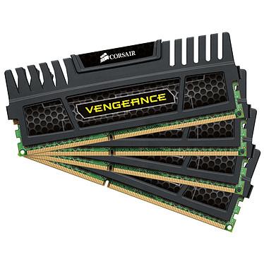 Corsair Vengeance Series 8 Go (4x 2 Go) DDR3 1600 MHz CL9 Kit Quad Channel DDR3 PC3-12800 - CMZ8GX3M4X1600C9 (garantie à vie par Corsair)
